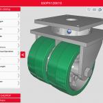 Caster CAD 3D