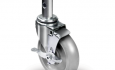 Colson 2 Series Convertible Hand Truck Caster with Side Lock Brake