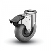 Colson 2 Series Modular Stem Caster with Total Lock Brake