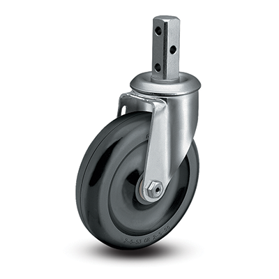 Colson 2 Series Square Stem Swivel Caster