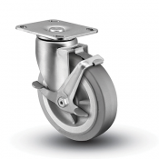 Colson 3 Series Swivel Top Plate Caster with Top Lock