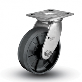 Colson 4 Series Stainless Steel Swivel Top Plate Caster