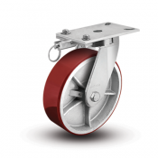 7 Series Enforcer Kingpinless Swivel Caster with Hand-Activated Swivel Lock