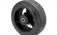 Colson Encore Moldon Rubber Wheel on Cast Iron core with capacity up to 400 pounds
