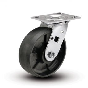 Colson Encore 4 Series Stainless Steel Swivel Top Plate Caster