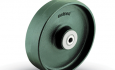 Colson Cast Iron wheel with capacity up to 3000 pounds