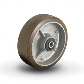 Colson Moldon Nylon on Aluminum Core wheel with capacity to 1500 pounds