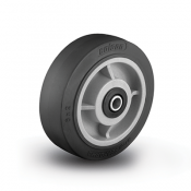 Colson Performa Wheel Flat Black Tread with Capacity to 1700 pounds