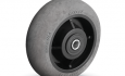 Colson Performa Conductive Wheel Round Grey Tread with capacity to 500 pounds