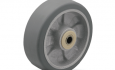 Colson Trans-forma HD Wheel Flat Grey Tread with capacity to 900 pounds