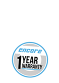 Colson Encore Casters feature a 3-Year Warranty