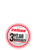 Colson Kingpinless & Maintenance-Free Casters feature a 3-Year Warranty
