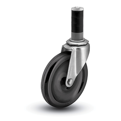 Colson 1 Series Expanding Adapter Stem Caster
