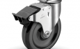 Colson 2 Series Swivel Top Plate Caster with Total Lock Brake