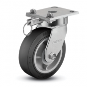 Colson 4 Series Enforcer Kingpinless Swivel Caster with Hand-Activated Swivel Lock