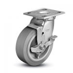 Colson 4 Series Swivel Top Plate Caster with Top Lock Brake