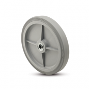Encore Flat Grey Hand Truck Wheel with capacity to 500 pounds