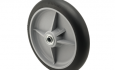 Encore Round Black Hand Truck Wheel with capacity to 600 pounds