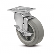 Colson Encore 4 Series Swivel Top Plate Caster with Top Lock Brake