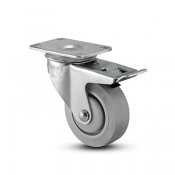 Colson Encore Swivel Top Plate Dolly Caster with Total Lock Brake