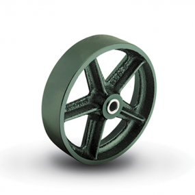 Colson Cast Iron wheel with capacity up to 600 pounds