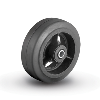Colson Moldon Rubber on Cast Iron Core wheel with capacity to 1140 pounds