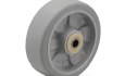 Colson Trans-forma Wheel Flat Grey Tread with capacity to 600 pounds