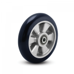 Colson Triumph Ergonomic Polyurethane Wheel with round blue tread and capacities to 1200 pounds