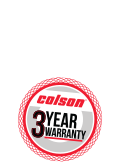 Colson 3 Series Casters feature a 3-Year Warranty