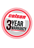 Colson casters are backed by the Industry's Leading 3 Year Warranty