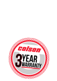 Colson Stainless Steel Casters feature a 3-Year Warranty